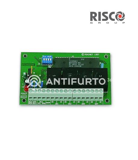Modulo Espansione Uscite a 4 Relè-Risco RP296E04000A