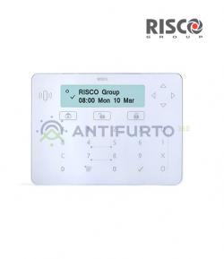 Tastiera touch ELEGANT, colore bianco-Risco RPKELPWT0000A