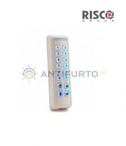 Tastiera Radio Bidirezionale, sottile, BIANCA e con Prossimità-Risco RW132KL2P00A