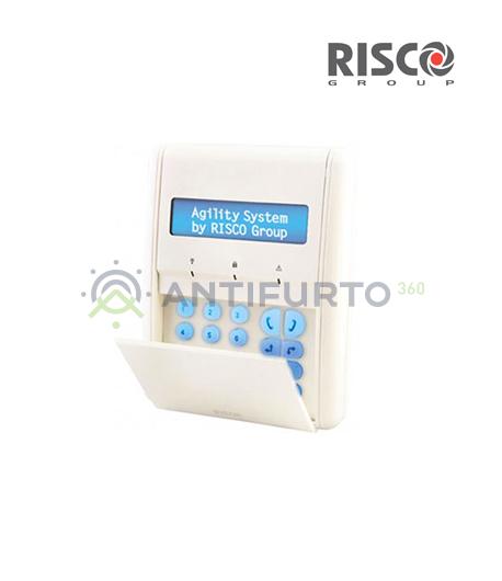 Tastiera radio con Display-Risco RW132KPPW30A