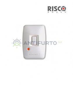 Telecomando pendant radio Monodirezionale a 1 tasto per utilizzo Panico e Rapina-Risco RWT50P86800A-B