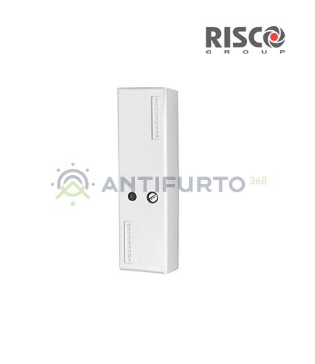 Sensore sismico con sensore piezoeletttrico bianco Risco GT06097A