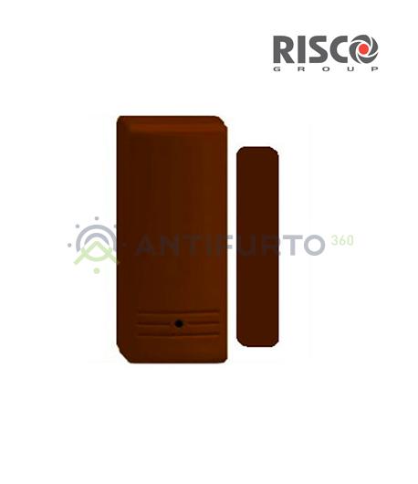 Contenitore in plastica marrone per contatti magnetici Monodirezionali-Risco RA62BR