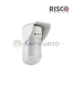 Sensore Risco doppia tecnologia per esterno con antimascheramento Risco RK315DTU000A