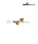 Contatto magnetico in ottone per porte blindate - Menvier Cooper CSA 424TF