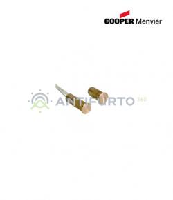 Contatto magnetico cilindrico corto in ottone - Menvier Cooper CSA 414CTF