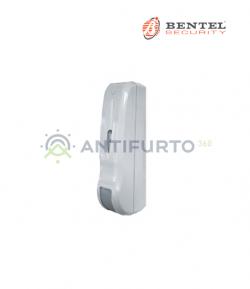 Sensore doppia tecnologia per esterno radio bianco protezione a tenda con trasmettitore BW - Bentel DT12TBBW