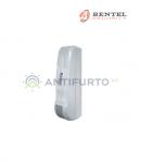 Sensore doppia tecnologia per esterno radio bianco protezione a tenda con trasmettitore BW