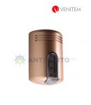Sirena Doge  DOGE/AS1  wireless con lampeggiante a led, colore rame-Venitem DAS1RAF
