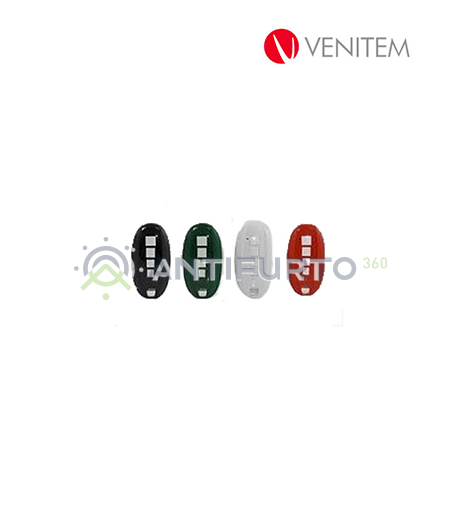 Radiocomando rolling code Vela RX colore bianco-Venitem VELATXB