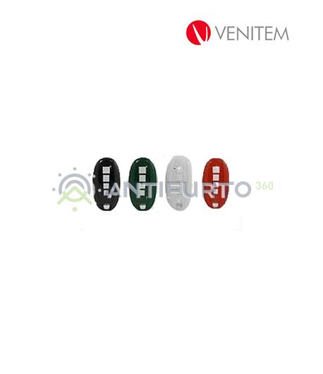 Radiocomando rolling code Vela RX colore nero-Venitem VELATXN