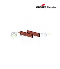Contatto magnetico a scomparsa MARRONE - Menvier Cooper CSA 401TFM