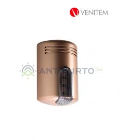 Sirena autoalimentata a 13.8 Vdc con lampeggiante a led DOGE/LS, colore rame-Venitem SED2000RAF