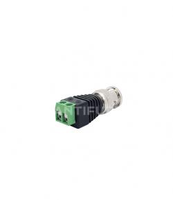 Connettore RG 59 con morsetti- Accessori TVCC PLUGBNC