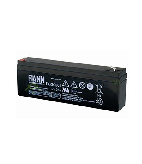 Accumulatore 12 V 2 Ah, FG20201, Fiamm