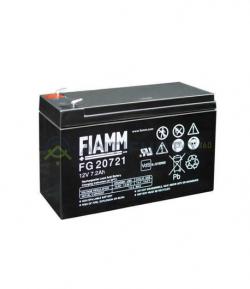 Accumulatore 12 V 7.2 Ah, FG20721, Fiamm