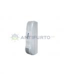 Sensore doppia tecnologia per esterno radio bianco protezione a tenda