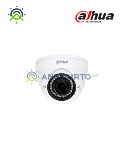 HAC-HDW1200R-VF-S3A DOME 1080p Varifocale 2.7~13.5mm 12V IR 30m ICR - Dahua