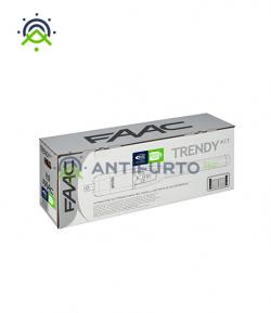 Trendy Kit 230V Green completo per cancelli a battente- FAAC 104419445