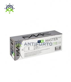 Master Kit FAAC 230V - kit automazione cancello battente con automazione elettromeccanica - Antifurto360.it