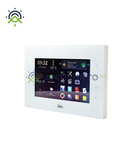 Dispositivo multimediale controllo domotico dei sistemi SmartLiving, colore bianco-Inim Evolution/SB