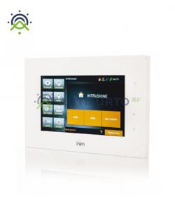 """Interfaccia utente Touch Screen 7"""" su I-Bus. Colore bianco-Inim Alien/GB"""