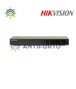 DS-7604NI-K1/4P NVR POE 4  CH POE 4K + 1*HDD 1TB VIDEO -  Hikvision