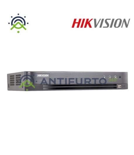 DS-7208HQHI-K2/A DVR 8  CH TVI + 2 IP 4MP + 1*HDD 1TB VIDEO -  Hikvision