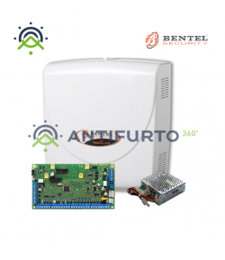 Kit Bentel Absoluta 16 con centrale di: Box ABS-P, centrale ABS16 ed alimentatore BAW35T12 - KITABS16P-A360
