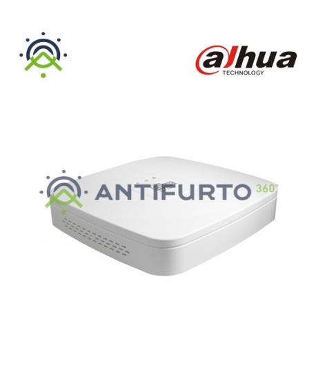 Registratore  NVR IP 8Ch 4K 1HDD 4xPoE 48V IO Audio 1 LAN- Dahua NVR4108-P-4KS2