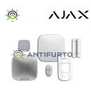 Hub Kit Siren AJ-KIT3W Kit: unità centrale Hub,1MotionProtect1 DoorProtect,1 SpaceControl,1 HomeSiren,1 StreetSiren- Ajax