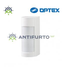 Sensore volumetrico allarme esterno con doppio fascio e indicatore led - Optex VXI ST