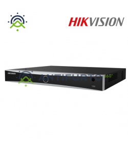 DS-7608NXI-I2/8P/4S NVR SERIE 76 ACUSENSE, 8 CH/8 PoE/4 CH DEEP LEARNING, 1*HDD 1TB VIDEO -  Hikvision