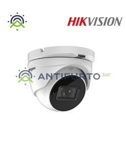 DS-2CE79D3T-IT3ZF (2.7-13mm) TURRET OTTICA VARIFOCALE WDR 120dB 4IN1 2MP -  Hikvision