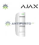 MotionProtect Outdoor AJMPO Rivelatore PIR per esterno senza fili con antimask e pet immune . Portata m15, 90° -  Ajax