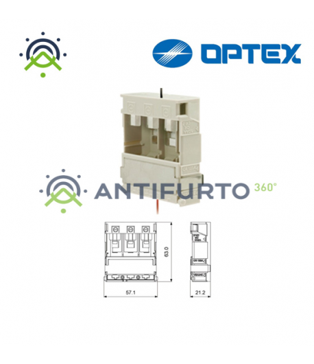 Contenitore per batterie sensori Optex  - Optex VXIRBB-1
