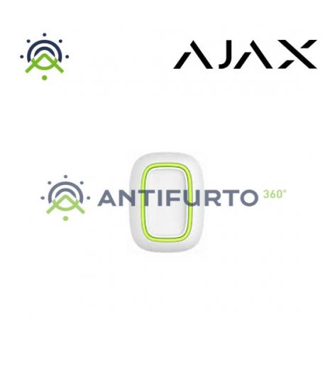 10315 BUTTON W - Telecomando 1 pulsante per emergenza panico scenari - Bianco -  Ajax