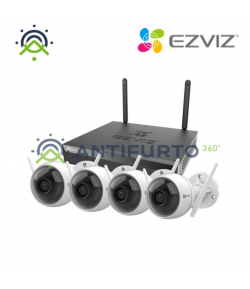 Wireless Security Kit 4CH - Ezviz