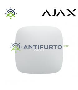 20279 HUB 2 PLUS W - Centrale di sicurezza supporta i rilevatori con verifica fotografica (2 SIM card, Ethernet) - Bianca -Ajax